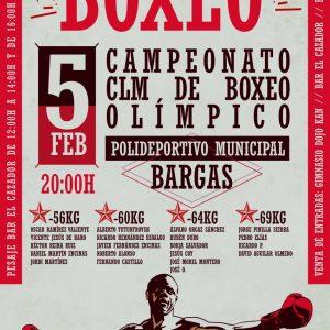 Campeonato CLM de boxeo olímpico.