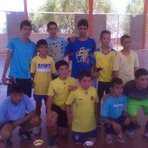 Finalizó con éxito la Copa Crack 2012 Infantil de fútbol-sala