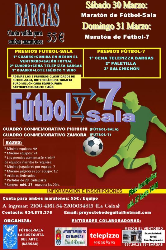 Maratón de Fútbol Sala y Maratón de Fútbol 7