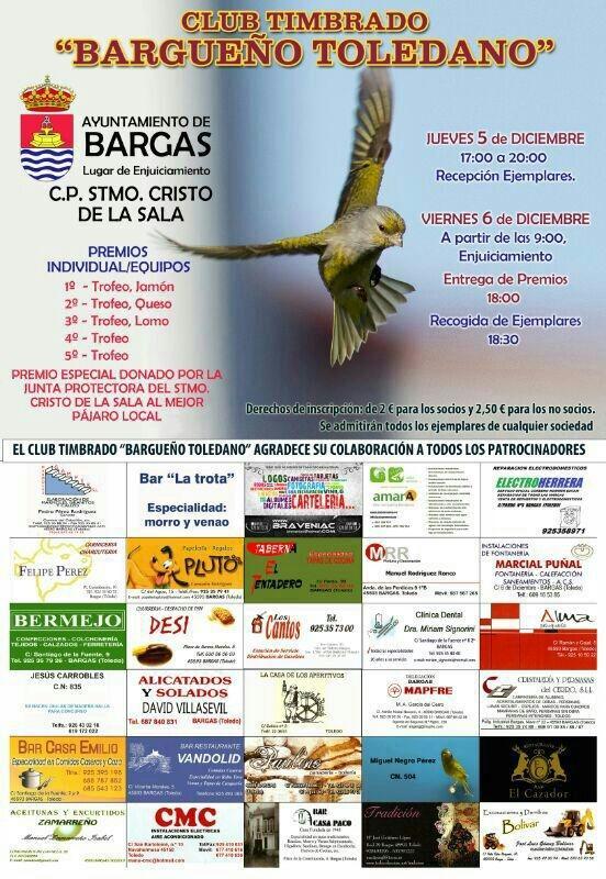 Club timbrado Bargueño Toledano»»
