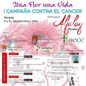 Una flor una vida. I Campaña contra el cancer