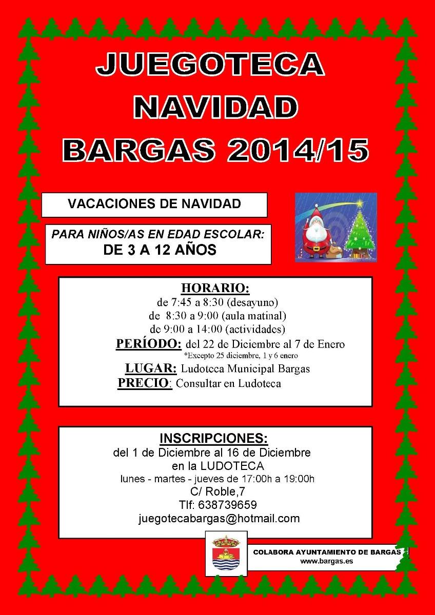 Juegoteca – Navidad 2014-15