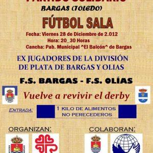 Partido Benéfico de Fútbol-Sala