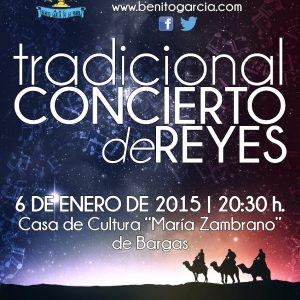 Tradicional Concierto de Reyes – 2015