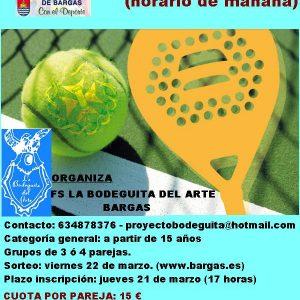 Torneo de Padel en Bargas
