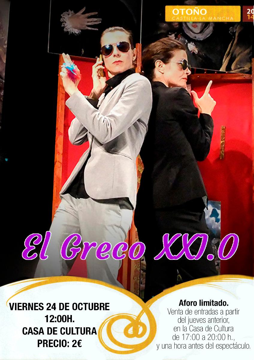 Teatro Infantil: El Greco XXI.0