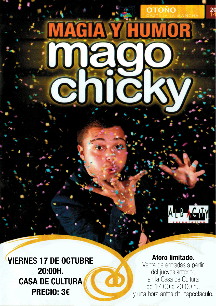 Magia y Humor: Mago Chicky