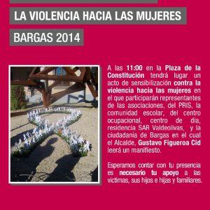Día Internacional contra la Violencia hacia las Mujeres. Bargas 2014
