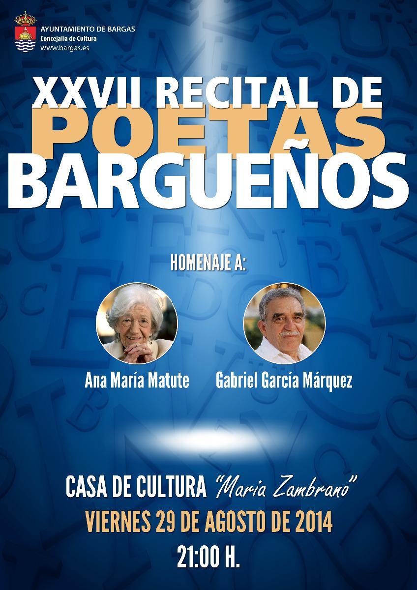 XXVII Recital de Poetas Bargueños