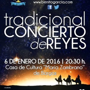 Tradicional Concierto de Reyes 2016