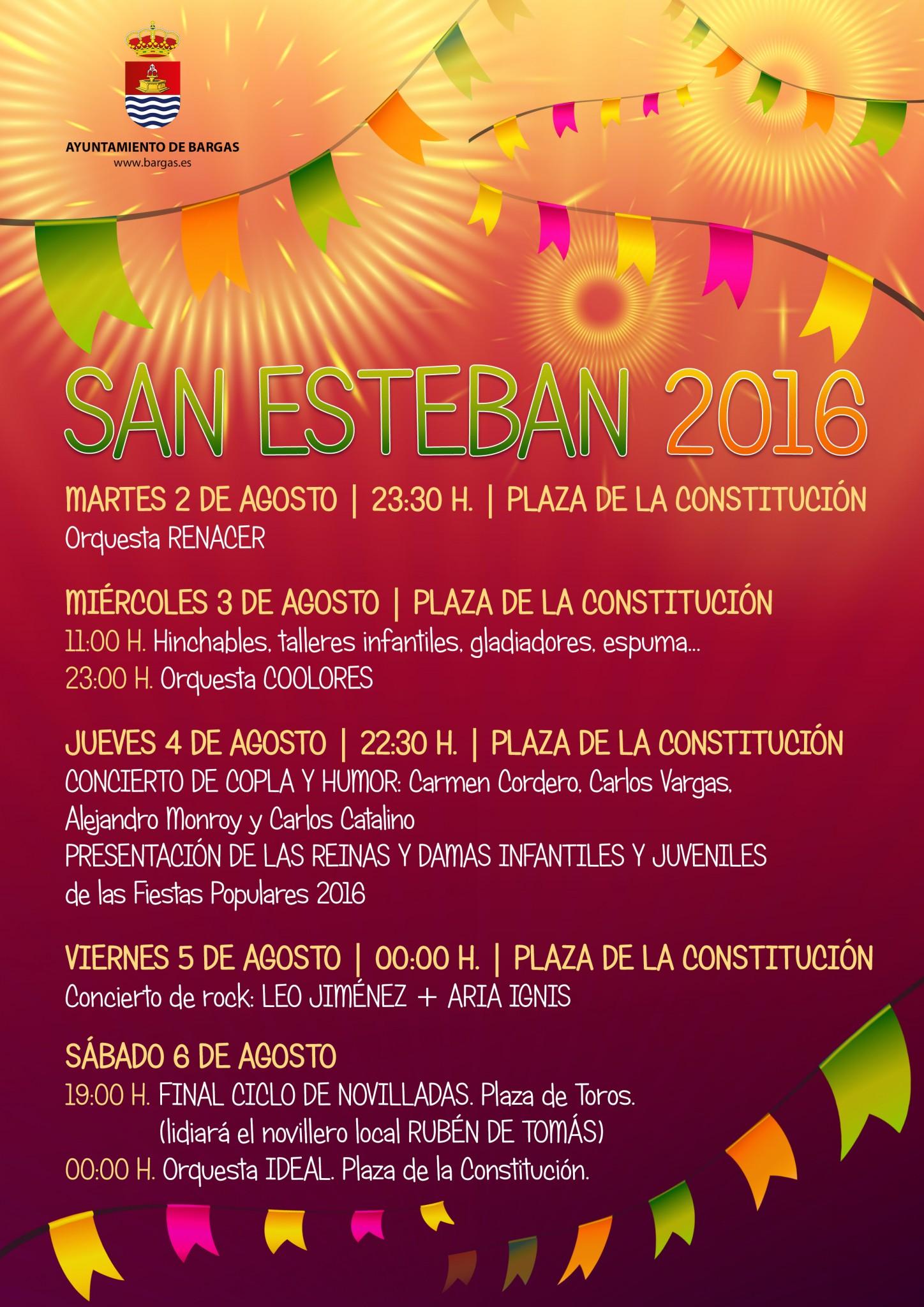 Fiestas de San Esteban 2016