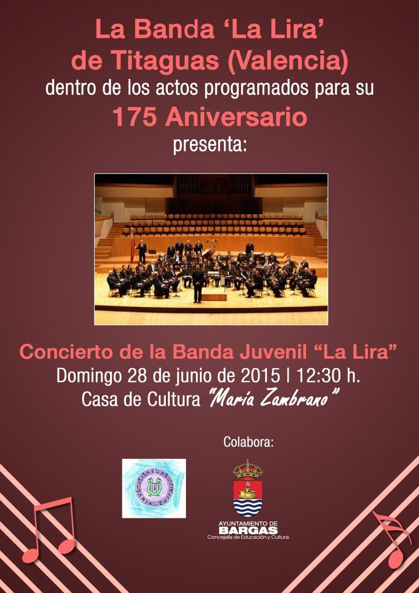 Concierto de la Banda Juvenil La Lira» de Titaguas (Valencia)»