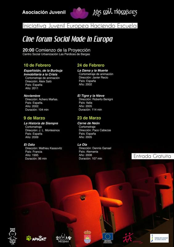 Cine Forum Social Made in Europa