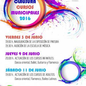 Clausura Cursos Municipales 2016