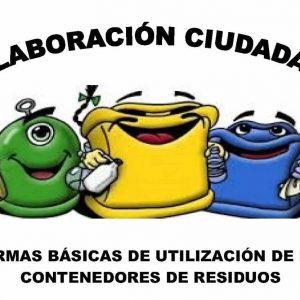 NORMAS BÁSICAS DE UTILIZACIÓN DE LOS CONTENEDORES DE RESIDUOS