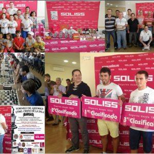 87 jugadores en el torneo de ajedrez de Bargas que se llevó Jorge Moreno Brocalero