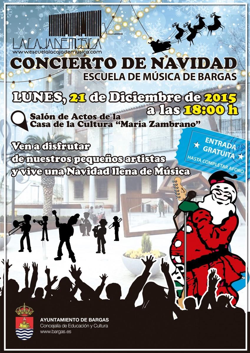 Concierto de Navidad: Escuela de Música de Bargas