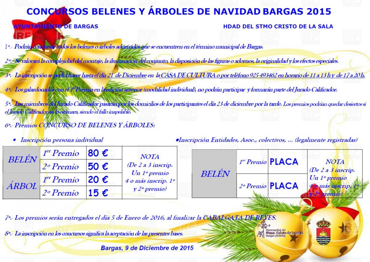 Concurso de Belenes y Árboles de Navidad – 2015