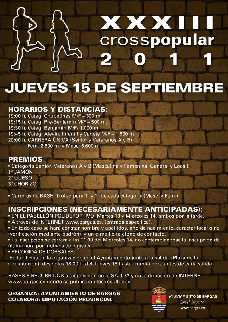 XXXIII Cross Popular de Bargas 2011