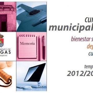 Matricula Cursos Municipales Cultura 2012-13