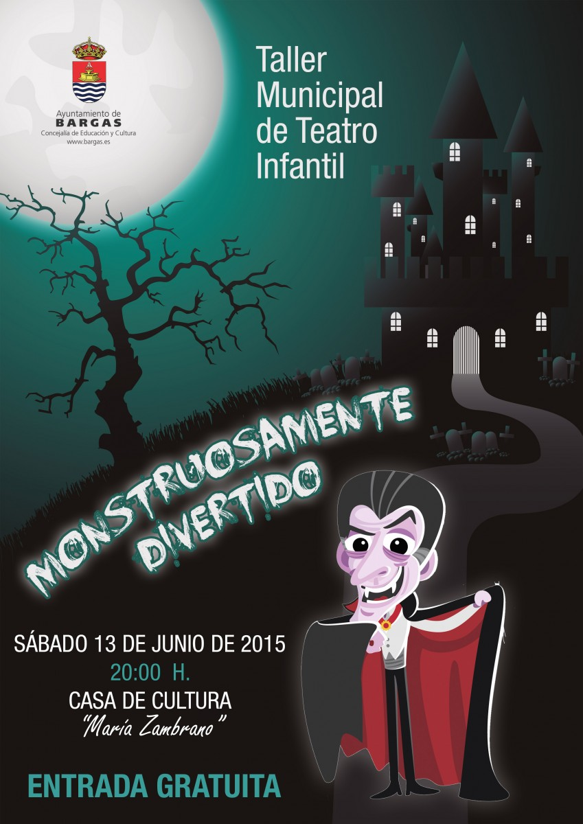 "Taller Municipal de Teatro Infantil: Monstruosamente divertido"""""