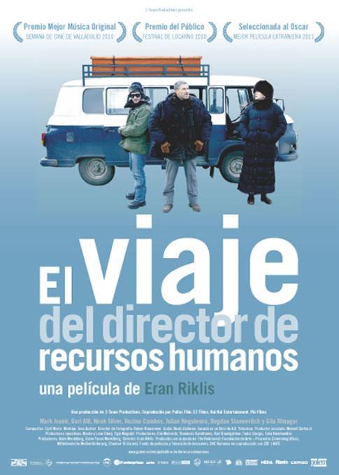 El viaje del director de recursos humanos. BARGAS CINE-CLUB v.o.s.