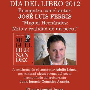 Encuentro con el autor: José Luis Ferris