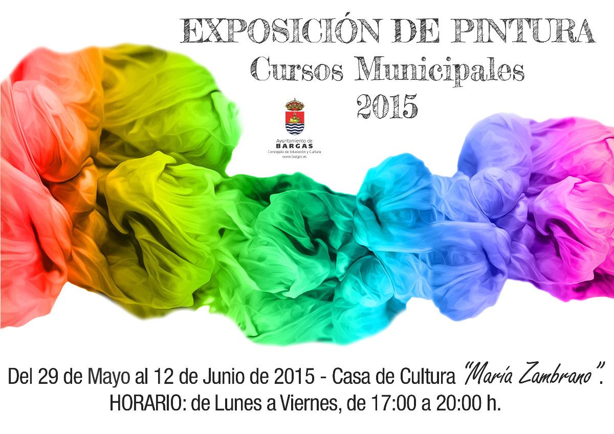 Exposición de Pintura – Cursos Municipales 2015
