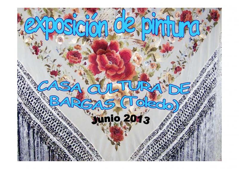 Exposición de pintura – Cursos Municipales 2012-13