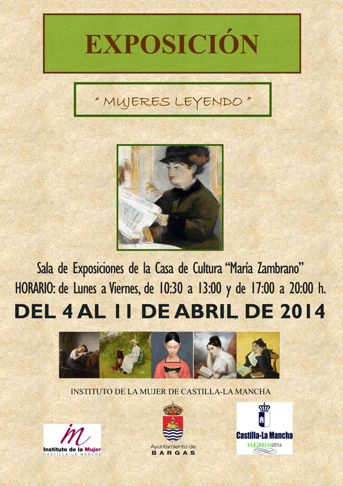 """Exposición: Mujeres leyendo"""""""""""