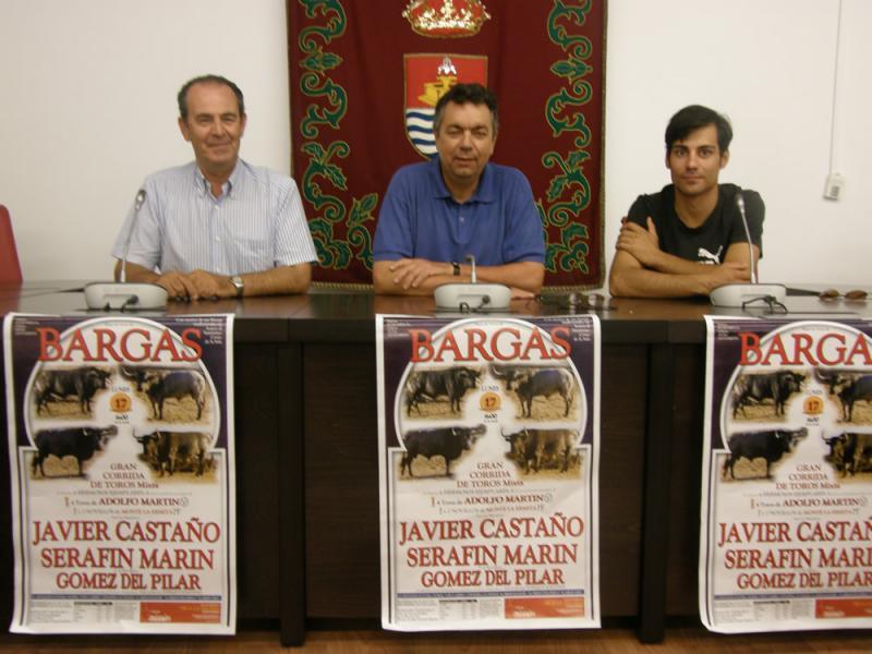 GRANDES FESTEJOS TAURINOS EN BARGAS CON MOTIVO DE LAS FIESTAS 2012
