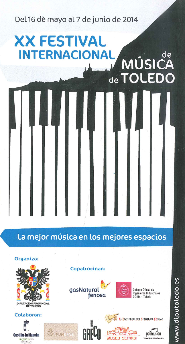 XX Festival Internacional de Música de Toledo