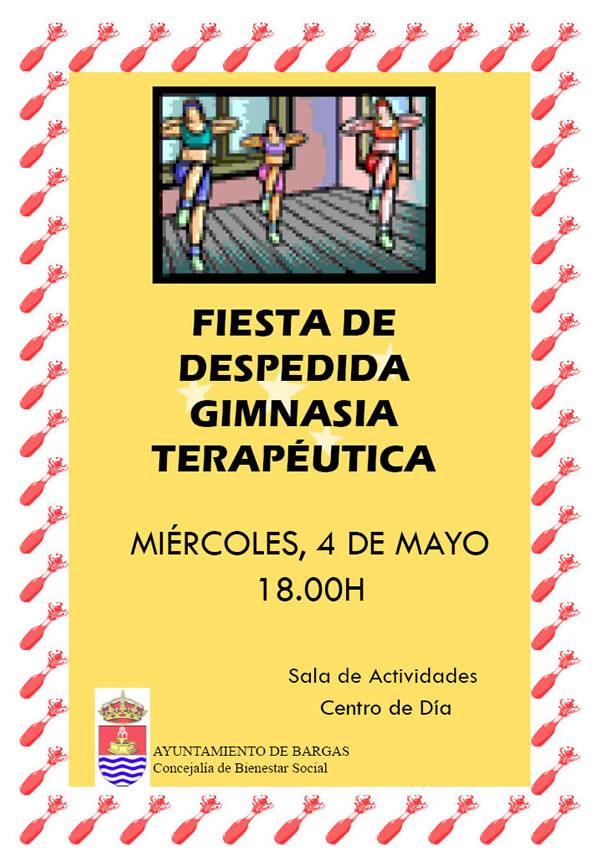 Fiesta de Despedida Gimnasia Terapeútica