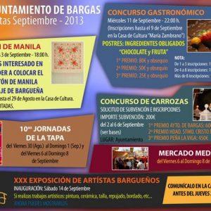 Concurso de Carrozas – Fiestas Populares en Honor al Stmo. Cristo de la Sala 2013