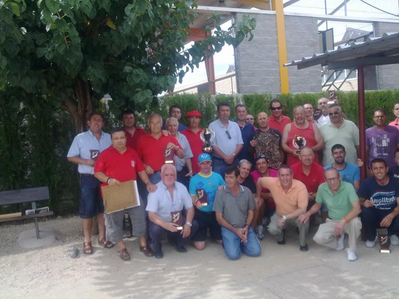 Final del Trofeo de la Calva en Bargas