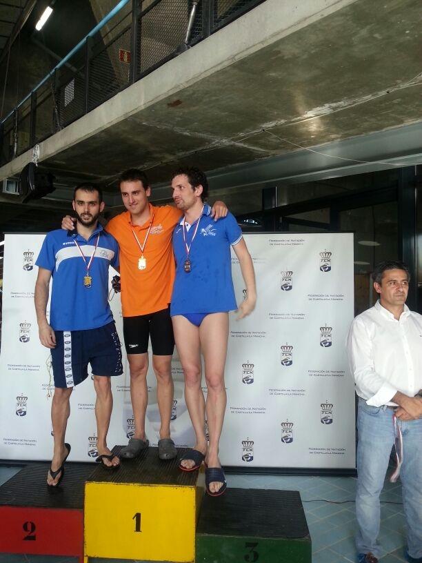 Moisés de Dios Lasa, triple Campeón Regional en natación