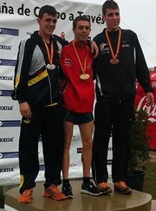 El atleta bargueño Ángel Ronco campeón de España junior de Cross