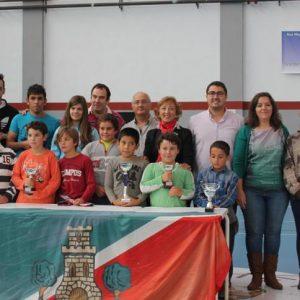 Los chicos de la escuela de ajedrez, protagonistas del Trofeo Diputación en Torrijos