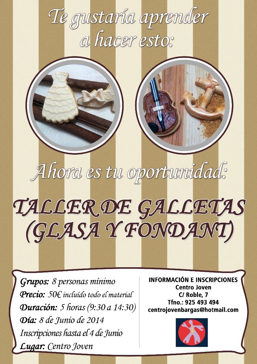 Taller de galletas (glasa y fondant)