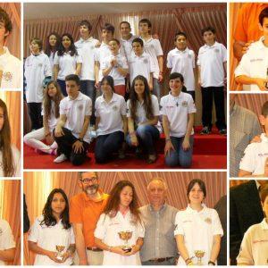 El Club de Ajedrez Bargas-Soliss revalida en Guadalajara su hegemonía regional con 5 títulos por edades y 9 podiums.