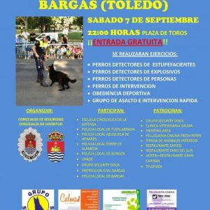 I EXHIBICION DE UNIDADES CANINAS POLICIALES