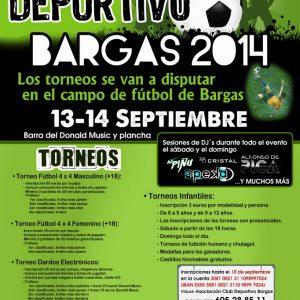 I Festival Deportivo Bargas 2014