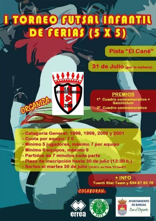 I Torneo Futsal Infantil de ferias
