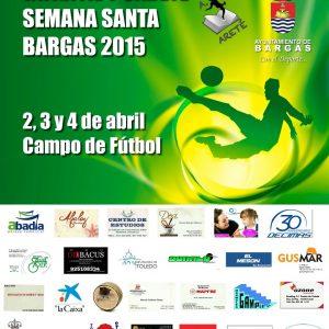 III Torneo de futbol infantil y cadete Semana Santa Bargas 2015