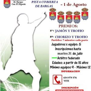 III Torneo Ferias Bargas 2012