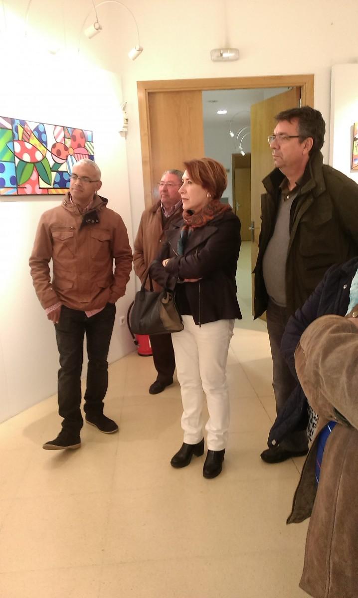 Inauguración exposición Óscar Luis Gazabón Contreras