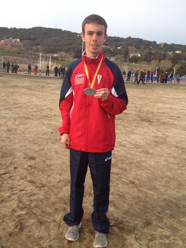 Ángel Ronco se ha traído para casa el Subcampeonato en la categoría de Junior-Promesa.