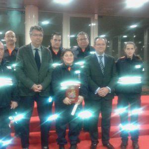 Galardón a la Agrupación de Voluntarios de Protección Civil de Bargas