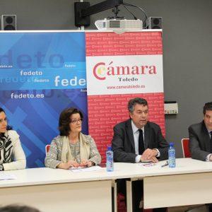 """Bargas cuenta con un nuevo espacio para """"emprender""""de la mano de la Cámara de Comercio de Toledo"""