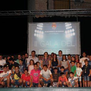 II GALA DEL DEPORTE EN BARGAS 2016